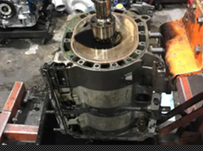 ロータリーエンジン オーバーホール